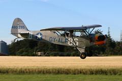 OY-ALF Piper J3C-65 Cub (L-4J) (Vesterholm) Tags: vintage veteranfly flymuseum flyveaften