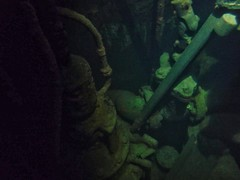 Flooded Hydro Electric Turbine Room, UK, jcw1967, OPE, 30072016 (3) (jcw1967) Tags: hydroelectric hydro historical flooded underwater urban exploration urbanexploration abandoned hdr