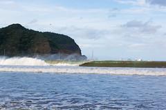 Wave (E. Aguedo) Tags: waves beach ocean birds mountain san juan del sur nicaragua central america