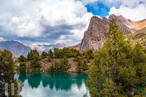 Chapdara Lake, Aloudin, Fann Mountains, Tajikistan.