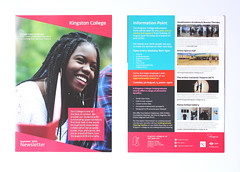 Kingston College Newsletter 2016 (aydinimustafa) Tags: graphics graphic graphicdesign design art artwork illustration type text typography editorial layout book colour college school university work job placement photography grid inspiration posters poster banner leaflet digital print photoshop indesign illustrator carshalton kingston branding campaign summer brand logo marketing advertisement ideas development billboards socialdesign exploration experimentation xerox newsletter