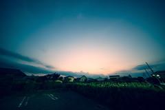 Day 219/366 : Summer Sunset (hidesax) Tags: 219366 summersunset sunset sky fields parking lot skyline bedtown ageo saitama japan hidesax sony a7ii voigtländerheliarhyperwide10mmf56 366project2016 366project 365project