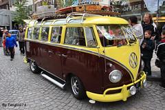 Volkswagen Combi T1 (fangio678) Tags: molsheim cox show 15 05 2016 kfer coccinelle vochos voiture voituresanciennes ancienne collection cars classic coche oldtimer youngtimer allemande t1