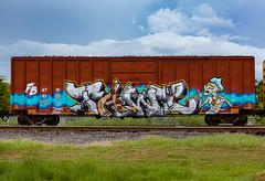 (o texano) Tags: houston texas graffiti trains freights bench benching tawl fb