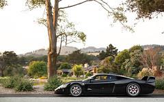 MC12. (Alex Penfold) Tags: black maserati mc12 supercars supercar super car cars autos alex penfold profile quail 2016 america
