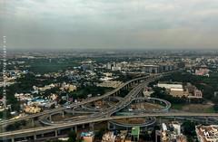 Kathipara Flyover, Chennai (creati.vince) Tags: aerial bridge chennai cloverleaf creativince elevated flyover interchanges kathipara overbridge road tamilnadu india in