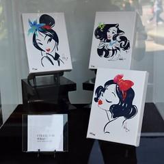 Disneyland Visit 2016-08-21 - Downtown Disney - WonderGround Gallery - Artwork by Whitney Pollet - Collector Wrap (drj1828) Tags: us disneyland dlr anaheim california visit 2016 downtowndisney wondergroundgallery artwork disney