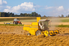Letn akce jak m bt! (Honzinus) Tags: lto summer n kombajn combine traktor zetor 2025 sampo skrovnice echy esko cz czech esk esk harvest harvester