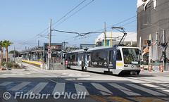 Downtown Santa Monica Station (finnyus) Tags: downtownsantamonicastation santamonica lightrail losangelescountymetrorail expoline la losangeles usa unitedstatesofamerica