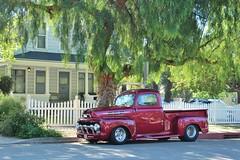 20th Annual La Verne Cool Cruise (USautos98) Tags: 1952 ford f100 hotrod streetrod custom pickuptruck