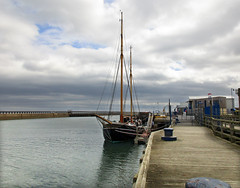 Williams II ex Haabet at Blyth (DavidWF2009) Tags: northumberland blyth tallship sailingship haabet williamsii