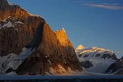 Karpogoro: Solu Tower and Workman Peak (Shahid Durrani) Tags: biafo glacier karakorams gilgit baltistan pakistan
