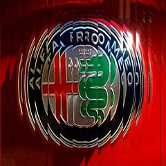 Alfa Romeo Logo (35mmMan) Tags: alfaromeo alfared logo italian mobile android samsungkzoom app effect picsart automotive design red reeded lameccanicadelleemozioni