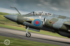 """ Hidden things are revealed"" (SJAviation.net) Tags: aircraft nikon 16squadron bruntingthorpe jet raflossiemouth panning xw544 airshow rafglaarbruch aviation blackburnbuccaneer"
