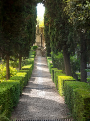 the green mile (xtj7) Tags: green rome italy nature cemetery protestant light trees history old sunny summer