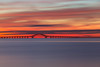 Bay Dawn (Bob90901) Tags: bay dawn greatsouthbay morning longisland newyork rpg90901 longexposure 2016 september 0604 bluehour nauticaltwilight robertmosescauseway water sky neutraldensity lee littlestopper nd6 filter canon 6d canonef70200mmf28lisiiusm canon70200f28lll bridge summer bergenpoint westbabylon