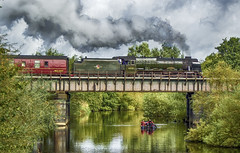 46155 Scots Guardsman leaving Derby (Rob Booth Imagery) Tags: train locomotive steam scots guardsman