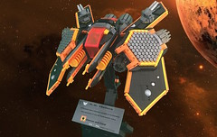 Helios (Low Res) (Siercon and Coral) Tags: lego starship spaceship straighter space helios