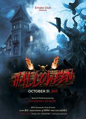 halloween (creativevalues) Tags: halloween happyvalentinesday horrornight 2016 halloween2016 flyer party