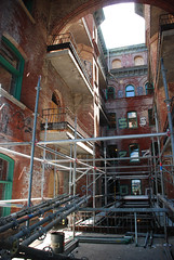 scaffolding, scaffold, superior scaffold, 215 743-2200, philadelphia, pa, de, md, nj, new jersesy, shoring, renovation, masonry, construction, divine lorraine, 093 (Superior Scaffold) Tags: scaffolding scaffold rental rent rents 2157432200 scaffoldingrentals construction ladders equipmentrental swings swingstaging stages suspended shoring mastclimber workplatforms hoist hoists subcontractor gc scaffoldingphiladelphia scaffoldpa phila overheadprotection canopy sidewalk shed buildingmaterials nj de md ny renting leasing inspection generalcontractor masonry superiorscaffold electrical hvac usa national safety contractor best top top10 electric trashchute debris chutes divinelorraine netting