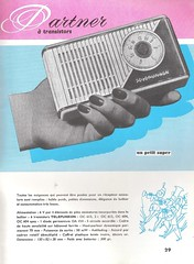 TELEFUNKEN Radio, Phono, Television, Magnetophon Dealer Brochure (France 1957)_16 (MarkAmsterdam) Tags: old classic sign metal museum radio vintage advertising design early tv portable colorful fifties arm tsf mark ad tube battery engineering pickup retro advertisement collection plastic equipment deck tape changer electronics era record handheld sheet catalog booklet collectible portfolio recorder eames sales electrical atomic brochure console folder tone forties fernseher sixties transistor phono phonograph dealer cartridge carradio fashioned transistorradio tuberadio pocketradio 50s 60s musiktruhe tableradio magnetophon plaskon 40s kitchenradio meijster markmeijster markamsterdam coatradio tovertoom