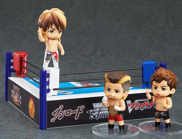 完全脫力!新日本摔角黏土人來了!