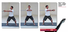 35DY23_1Twist/rotate – standing resistance-band rotation (sportEX journals) Tags: medicine physiotherapy rehabilitation sportex