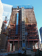 One World Trade Center Construction Site, New York City (jag9889) Tags: city nyc ny newyork tower skyscraper office construction manhattan worldtradecenter towers progress cranes highrise wtc groundzero 2010 portauthority rebuilding 9112001 91101 freedomtower 2013 10048 panynj zip10048 1wtc y2010 wtcprogesscom jag9889