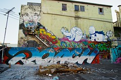 Image1074 [2012-12-13] (JAM Project) Tags: streetart art graffiti sydney ears exhibition pubs roach anthonylister beastman phibs cardboardcity pudl 1750mm hibernianhouse danielotoole bridgestehli soldiersrdgallery