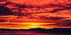 Early Winter Sunrise, Kittitas County, Washington (Dec 2012) (Steve G. Bisig) Tags: sky panorama usa sun art nature fog clouds sunrise landscapes washington nikon skies unitedstates fineart panoramic valley northamerica kittitascounty ellensburg fineartphotography kittitasvalley manastash specsky d700 statewashingtonkittitas