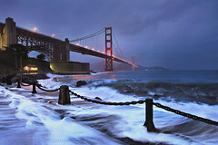 Twelve Days of Christmas (Day 11) 2012  ** EXPLORE No. 1 ** (Andrew Louie Photography) Tags: world sf life santa christmas camera new morning bridge blue holiday snow storm black hot color love nature coffee rain fog modern breakfast clouds sunrise canon french landscape dawn golden rainbow gate san francisco noir waves dynamic wine dusk expression chocolate contemporary unique toast year memories jazz overcast icon andrew romance explore international coastal hour future passion present romantic louie merry splash drama past iconic epic joys explosive pinot vibe milesdavis turbulent