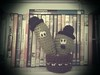 Laurel & Hardy (Malen Alomar /malenojodoro) Tags: lana crochet hilo amigurumi laurelhardy ganchillo elgordoyelflaco cactuscrochet amigurumicineclásico