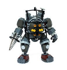 Big Daddy (Pate-keetongu) Tags: daddy big bouncer drill bioshock