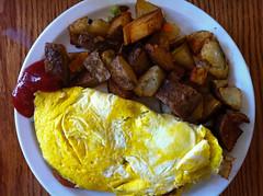 Omelette con patate
