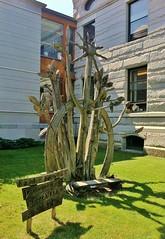 Peace Monument (ArtFan70) Tags: sculpture usa art america vermont unitedstates library newengland vt montpelier peacemonument kellogghubbardlibrary rathmann heinzrathmann