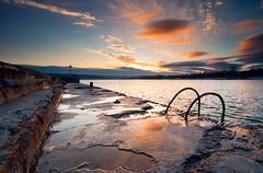 Varna, Bulgaria (P. Petkov) Tags: old blue sunset sea orange water nikon bulgaria 09 hitech varna d90 3stop tokina1116