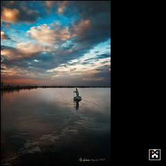 El pescador de somnis - The fisherman of dreams (Pep Iglesias) Tags: color water landscape boat nikon barca sigma paisaje 1020 nube pep aigua 2012 paisatge valncia nvol pasvalenci sollana marjal d80 spiritofphotography photoshopcreativo oracope