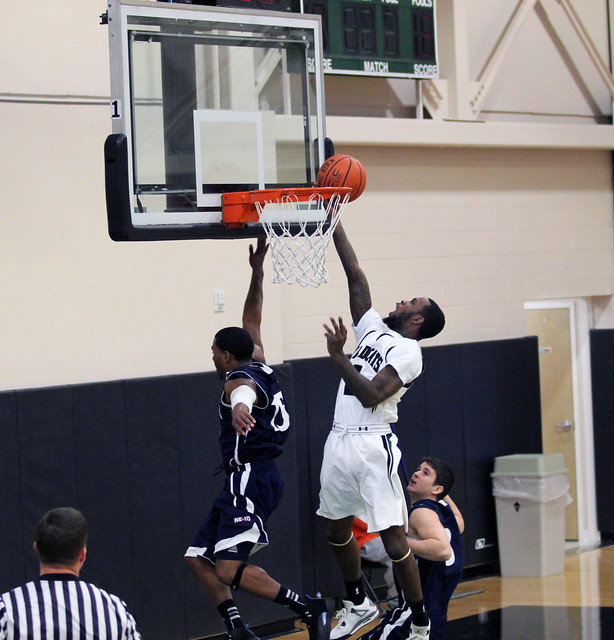 Shaq Gaskin add 10 points in the loss at Concordia. Copyright 2012; Wilmington University.