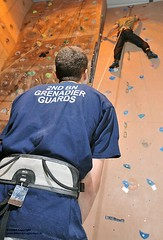 Soldiers Using Indoor Climbing Wall (Defence Images) Tags: uk male sport wall soldier army military free indoor adventure climbing mountaineering british guards betwsycoed defense defence conwy personnel grenadier physicaltraining adventuroustraining nonidentifiable