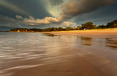 A sweeping shoreline (Louise Denton) Tags: longexposure light cloud motion colour waves australia stormy darwin tropical mindilbeach canon1740mmf4l wetseason bestbeach worldsbestbeach toptenbeaches canon5dmarkiii topbeachinaustralia