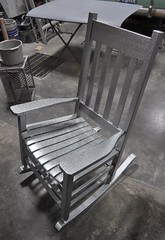 "Metal Flake Rocking Chair • <a style=""font-size:0.8em;"" href=""http://www.flickr.com/photos/85572005@N00/8345762613/"" target=""_blank"">View on Flickr</a>"