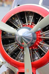 DHC 2 Beaver float-plane at Ely MN seaplane base. USFS . (Bob Symes) Tags: radial usfs dhc2beaver minnesota2011