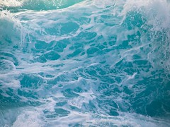 Wave Detail (FromHereOnIn.com) Tags: ocean seascape detail art water print landscape photography hawaii photo waves photographer image action picture curl highsurf crashingwave christopherjohnson metallicprint