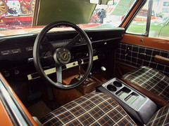 1979 International Scout Traveler dash (dave_7) Tags: orange classic truck interior scout international dash suv 1979 traveler