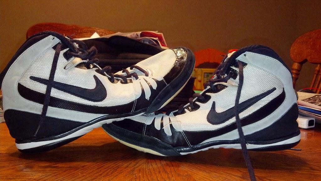 newest collection be4ef efd17 Nike Freek wrestling shoes (KmoKilla(8165070944)) Tags  blue red black west