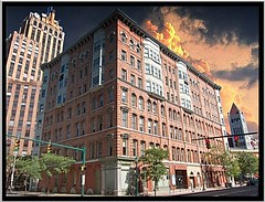 Syracuse Ny ~ Granger Block and State Tower Building (Onasill ~ Bill Badzo - 60 Million Views - Thank Yo) Tags: city sky ny newyork building tower art architecture hall state district historic syracuse historical block register deco granger sak hanoversquare nrhp onondagacounty onasill
