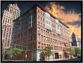 Syracuse Ny ~ Granger Block and State Tower Building