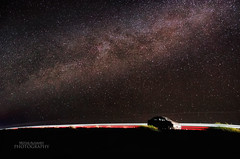 Milky Way over my friends car (Motaz Alnahdy) Tags: night way star nikon yemen nikkor milky aden milkyway 18105 d7000