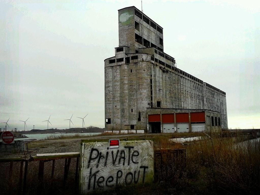 waterfront wasteland