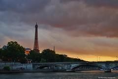 Paris Sunset (Rex Montalban Photography) Tags: paris france europe eiffeltower rexmontalbanphotography